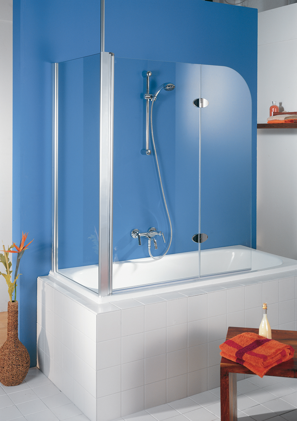 HSK Showers KG | Exclusiv, 2 piece with side panel