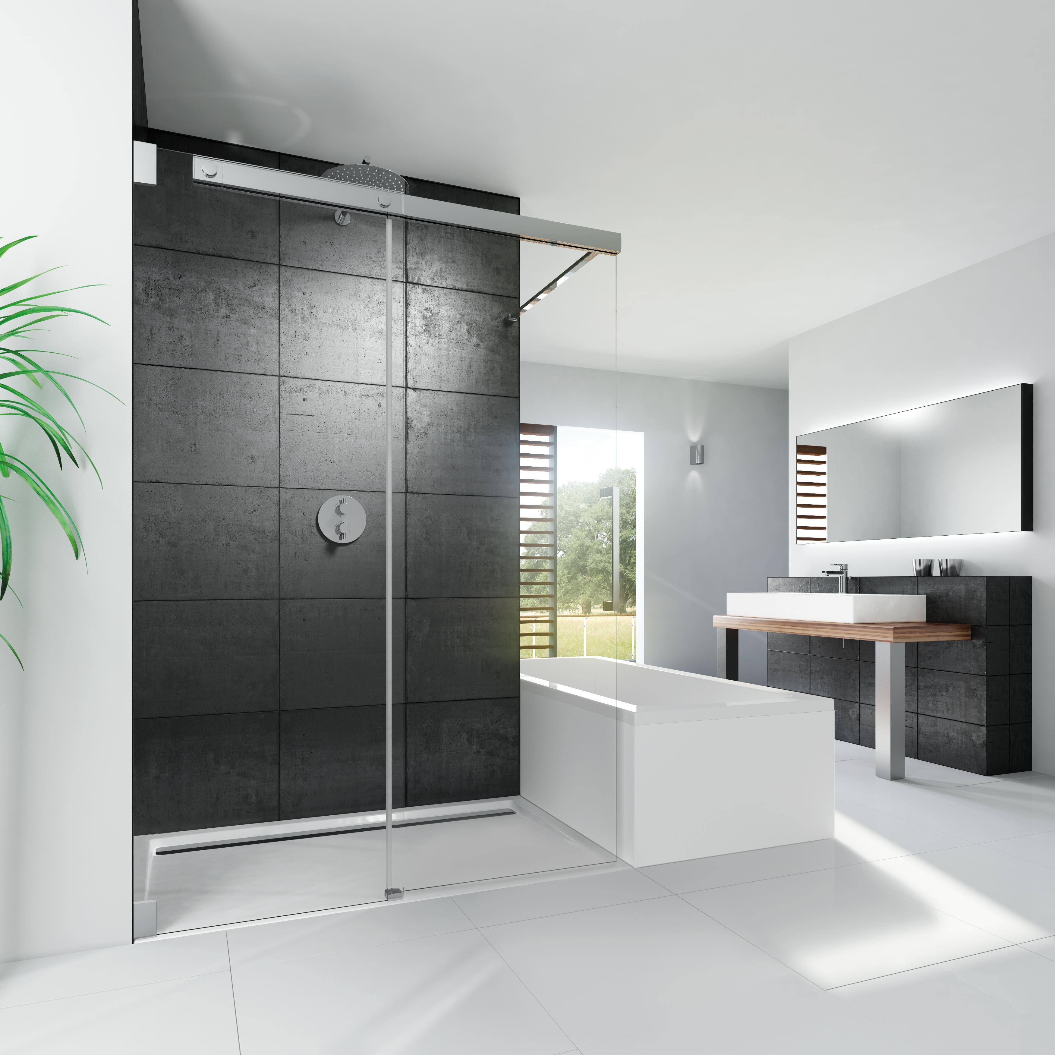 Hsk Walk In.Hsk Showers Kg K2p Walk In Sliding Door